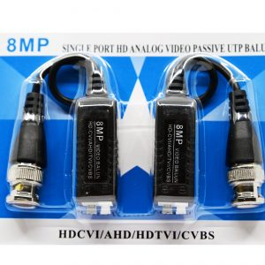 Set Video balun protectie interferente si descarcari electice pana in 8mp