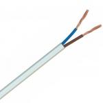 Cablu bifilar dubluizolat de alimentare MYYUP 2x0.75mm 100% cupru rola 100m