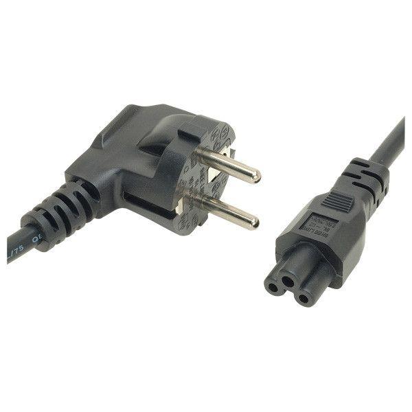 Cablu alimentare retea pentru laptop,surse alimentare, conector 3 pini (trifoi), maxim 150W