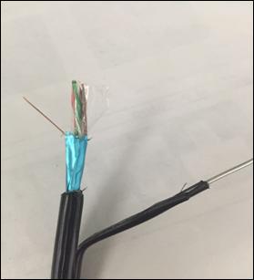Cablu CAT5 FTP cu sufa cupru solid 305m