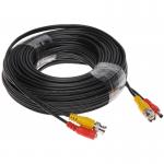 Cablu sertizat 20 metri pentru camere de supraveghere