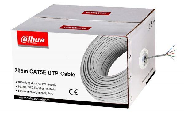Cablu UTP CAT5E Dahua PFM920I-5EUN, rola 305 m