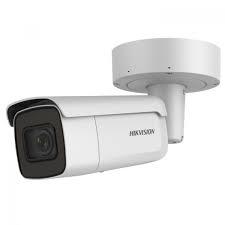 Camera IP Hikvision 4K cu POE 5 MP IR 50 m lentila varifocala motorizata cu SD card+doza