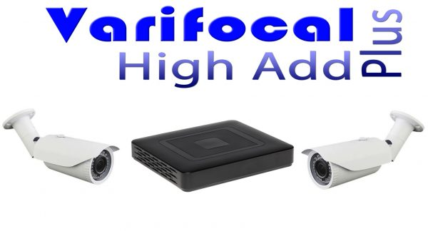 Kit supraveghere video 2 camere profesionale FULL HD 1,3 MP 960P varifocale 40m infrarosu lentila 3Mp ccd Sony, DVR 4 canale