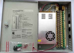 Sursa alimentare in cutie metalica 30A 12V cu 18 iesiri partajate