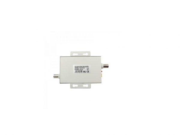 Amplificator semnal video cctv pentru cablu coaxial