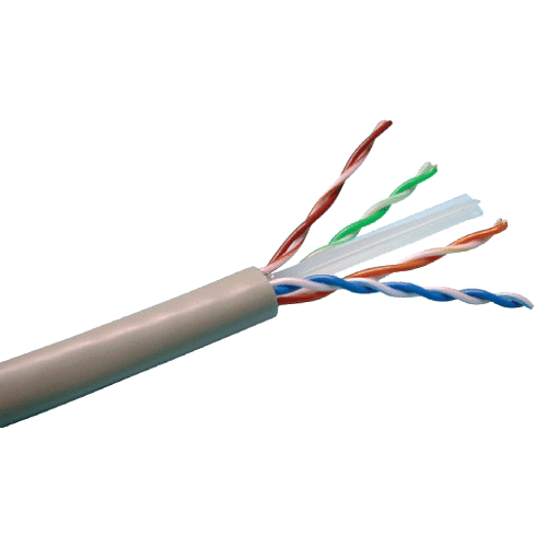 Cablu UTP, cat 6E, CUPRU 100%, 305m