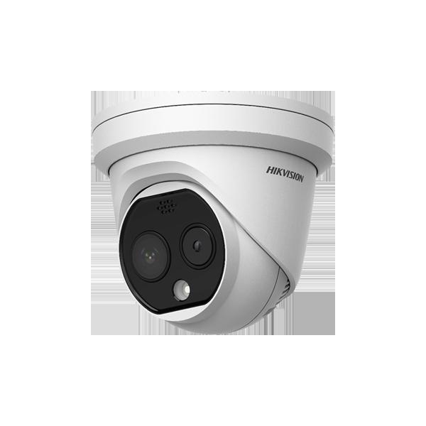 Camera supraveghere IP Hikvision detectare febra 0.8 ~ 1.5 metri DS-2TD1217B-3PA(B)