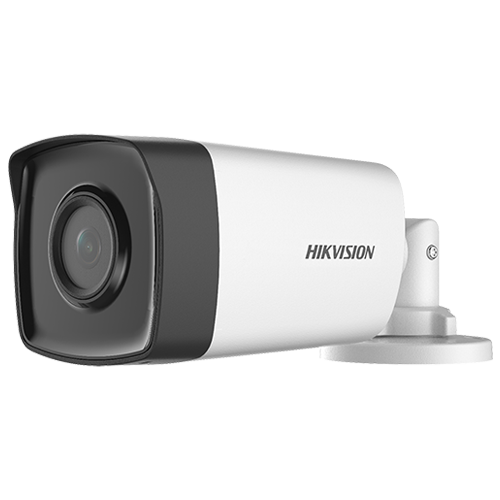 Camera supraveghere AnalogHD 2MP'lentila 2.8mm'IR 80m - HIKVISION DS-2CE17D0T-IT5F-3.6mm