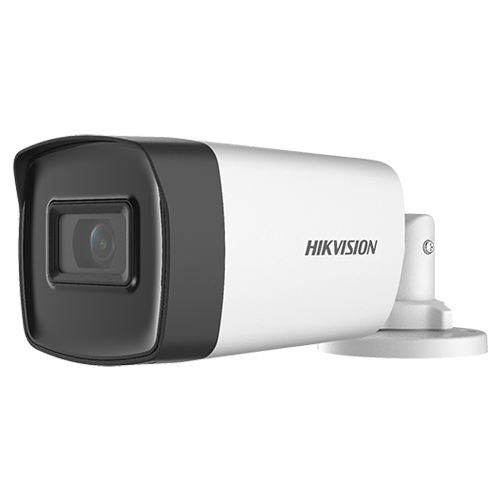 Camera supraveghere AnalogHD 5MP'lentila 3.6mm'IR 80m - HIKVISION DS-2CE17H0T-IT5F-3.6mm